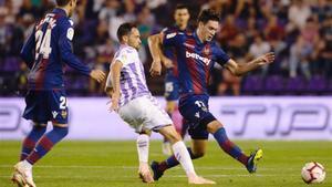Vukcevic, en un partido ante el Real Valladolid