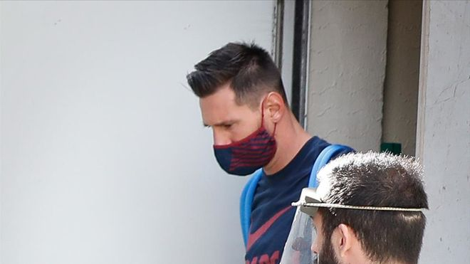 Messi no pasó el test del PCR