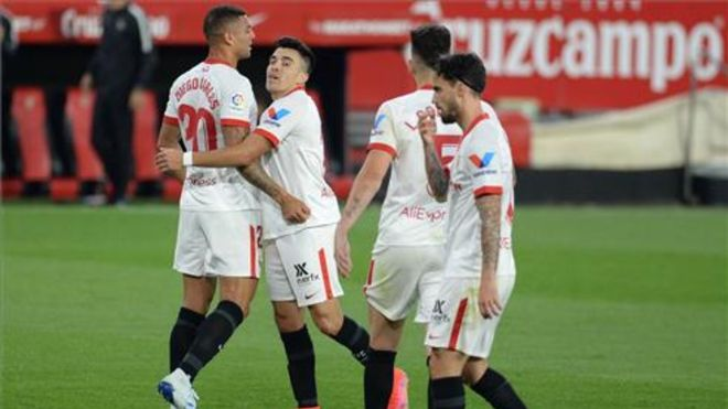 El Sevilla llega lanzado al Ciutat de València