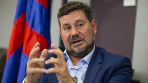 Eduard Romeu repasa con SPORT la delicada situación económica del Barça