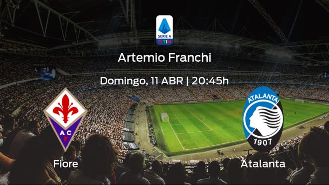 Previa del partido de la jornada 30: Fiorentina contra Atalanta