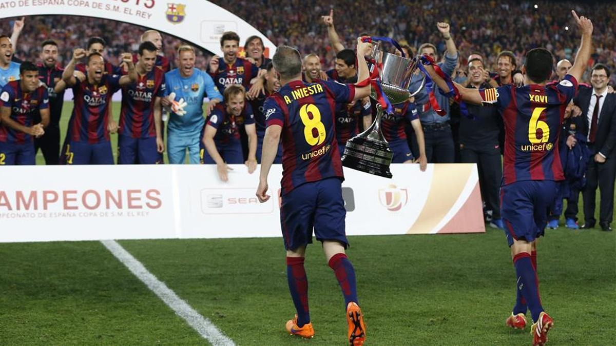 Iniesta y Xavi, historia blaugrana