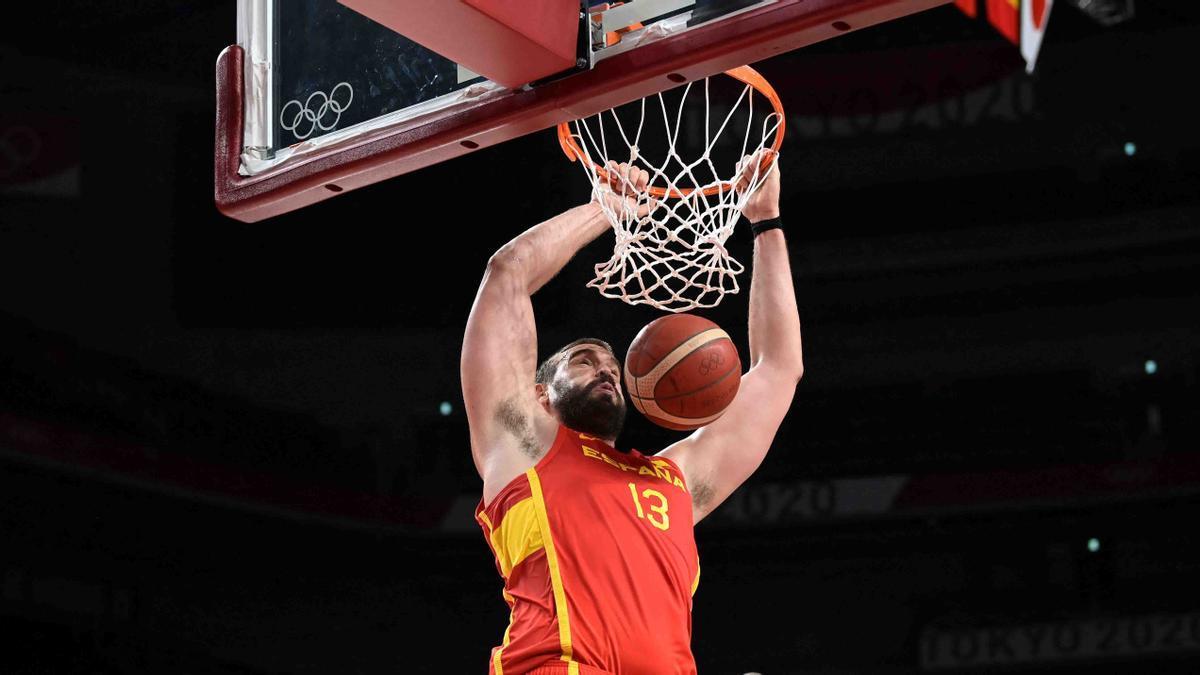 Marc Gasol, con España en los Juegos de Tokio