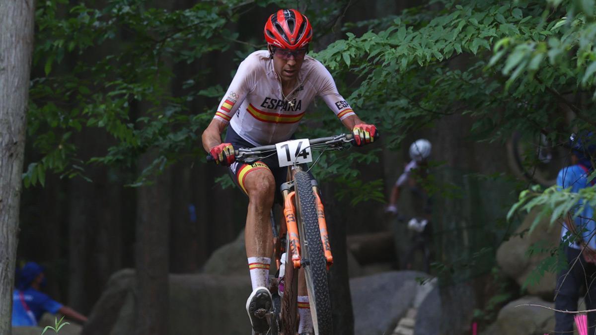 David Valero, bronce en mountain bike