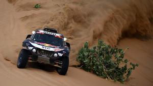 Sainz, tercero en el Dakar