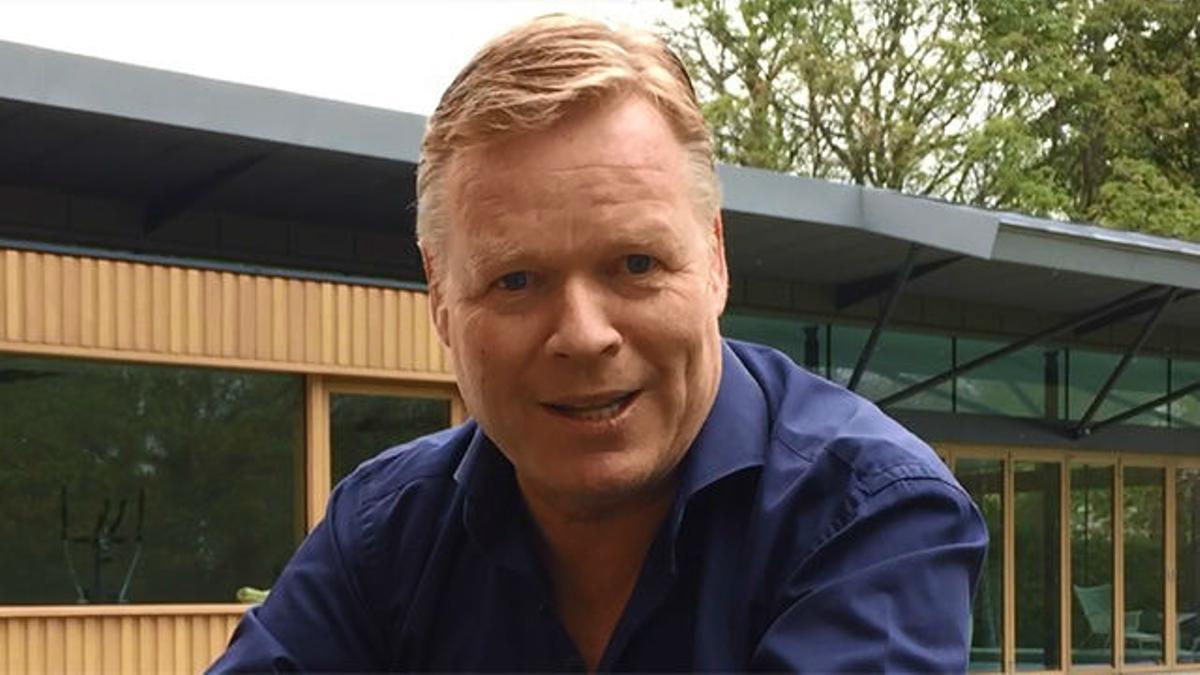 Koeman: Mi ilusión es entrenar al Barça