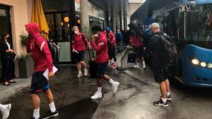 El Barça ya está en Salzburgo