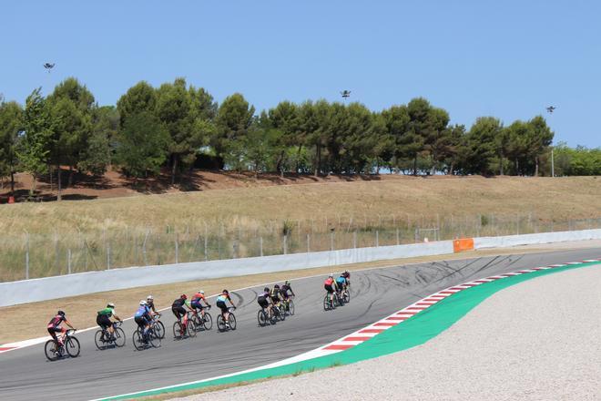 El Circuit de Barcelona-Catalunya ha respirado ciclismo