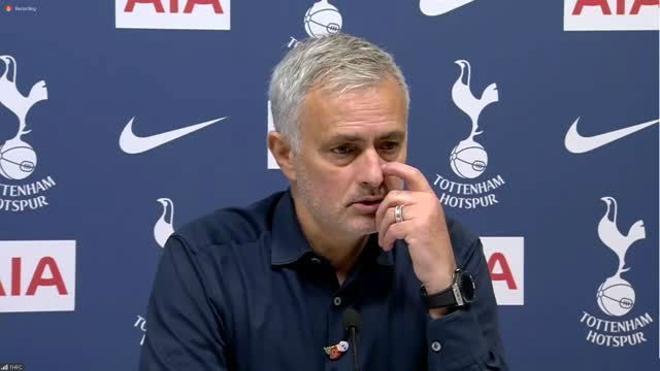 El palo de Mourinho al entorno del Real Madrid tras el gol de Bale