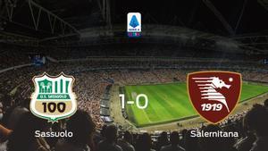 El Sassuolo consigue la victoria en casa frente a la Salernitana (1-0)