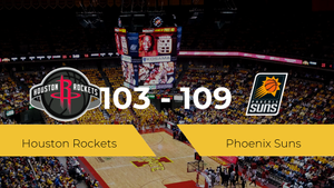 Phoenix Suns logra vencer a Houston Rockets (103-109)