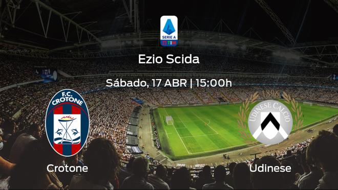 Previa del partido: Crotone - Udinese