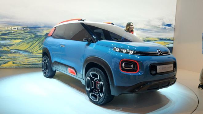 Citroën C-Aircross Concept en el Salón del Automóvil de Ginebra