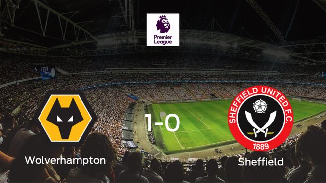 El Wolverhampton Wanderers se impone por la mínima al Sheffield United (1-0)