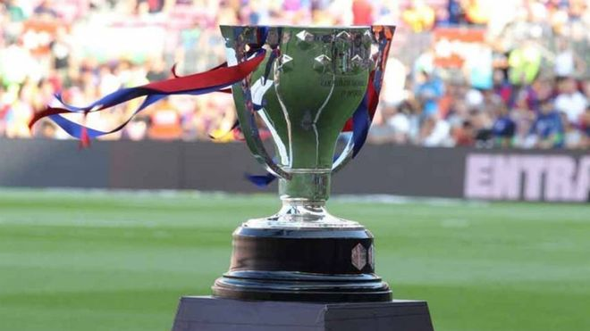 El trofeo de LaLiga