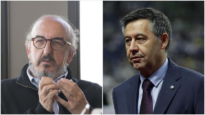 Jaume Roures y Josep Maria Bartomeu