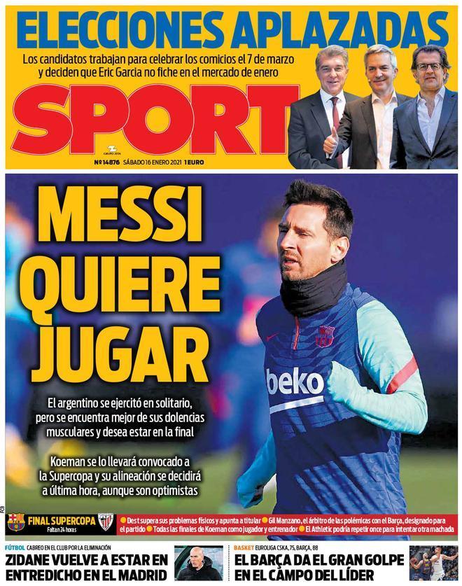 Messi quiere jugar