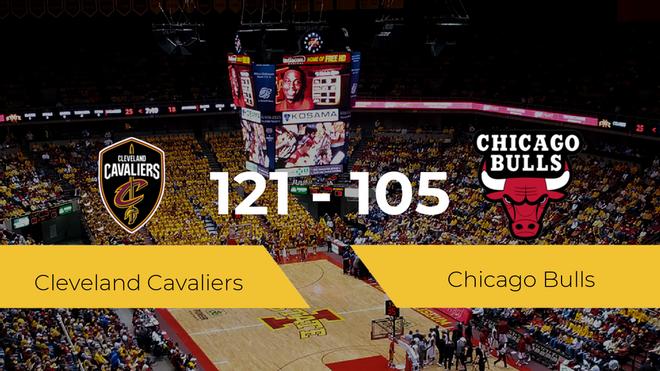 Cleveland Cavaliers se hace con la victoria contra Chicago Bulls por 121-105