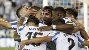 La victoria del Málaga contra el Lugo