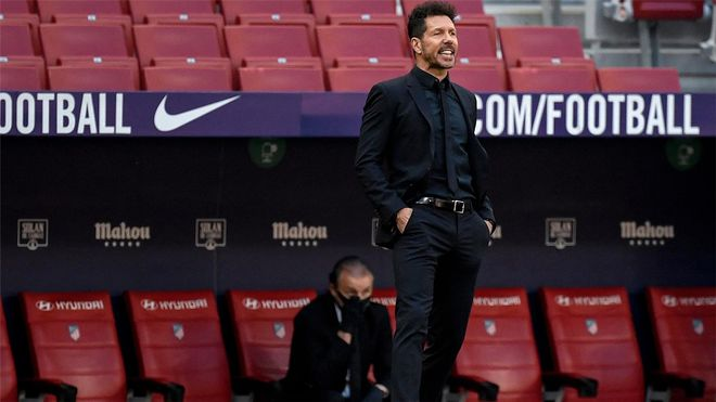 La postura de Diego Simeone respecto a la Superliga europea