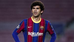 Aleñá, en el FC Barcelona esta temporada