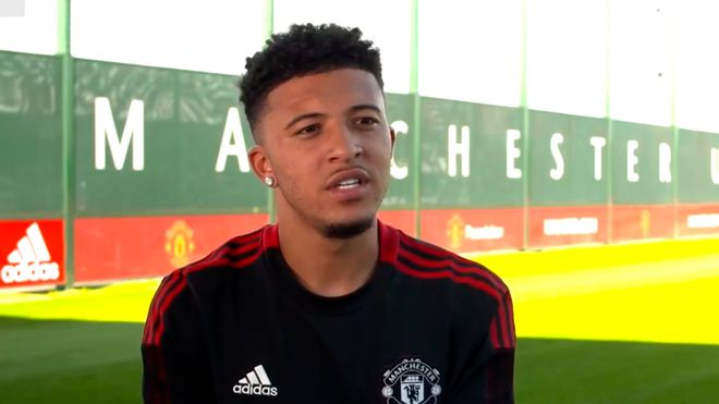 Sancho: I am determined to win titles with Manchester United