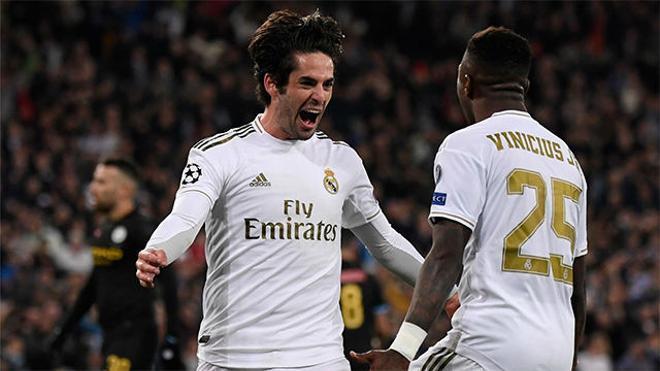 Isco adelantó al Real Madrid