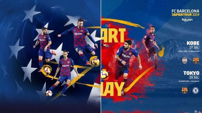 El FC Barcelona vuelve de gira a Japón y Estados Unidos en la pretemporada 2019/20