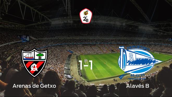 El Arenas de Getxo y el Alavés B firman tablas en el Municipal de Gobela (1-1)
