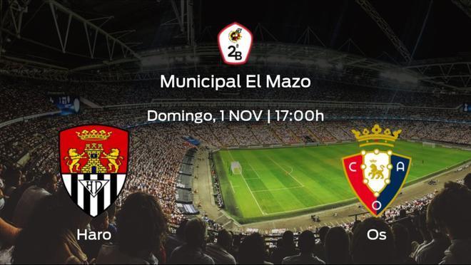 Jornada 3 de la Segunda División B: previa del encuentro Haro Deportivo - Osasuna Promesas