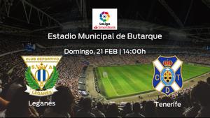 Previa del encuentro: Leganés - Tenerife