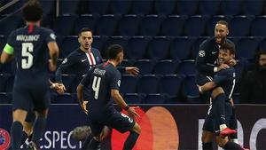 El PSG estará en la siguiente ronda de Champions tras remontar la eliminatoria ante el Dortmund