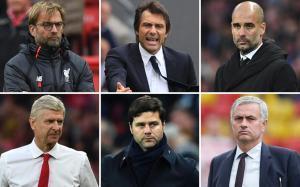 Seis entrenadores y un reto: el título de la Premier League