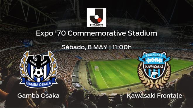Previa del partido: el Kawasaki Frontale defiende su liderato ante el Gamba Osaka