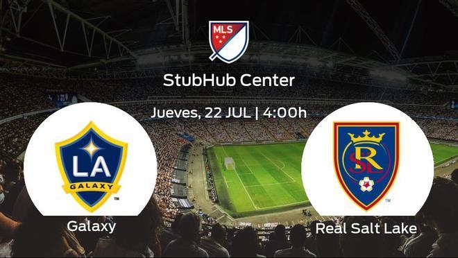 Jornada 19 de la Major League Soccer: previa del partido LA Galaxy - Real Salt Lake
