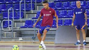 Aicardo reaparecerá este domingo ante Palma Futsal