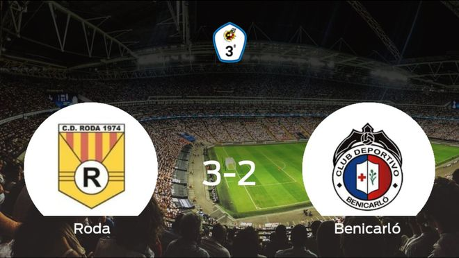 Los tres puntos se quedan en casa: Roda 3-2 Benicarló