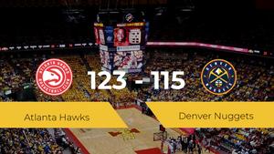 Triunfo de Atlanta Hawks ante Denver Nuggets por 123-115