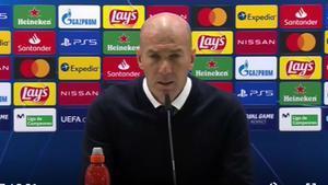 Zidane: No veo nada imposible, vamos a pelear por la Champions