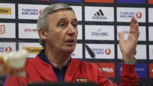 Svetislav Pesic confía en su equipo para la Copa del Rey