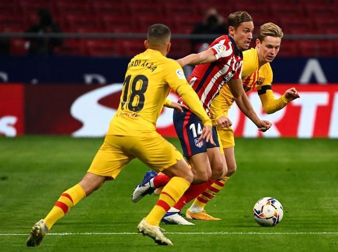 El Atlético de Madrid ha conseguido 24 de los 20 puntos que ha disputado esta campaña