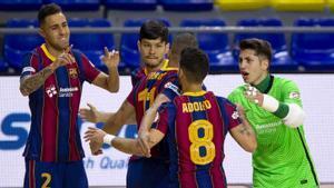 El Barça realizó un partido bastante completo