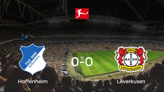 El Hoffenheim y el Bayer Leverkusen concluyen su enfrentamiento en el Prezero Arena sin goles (0-0)