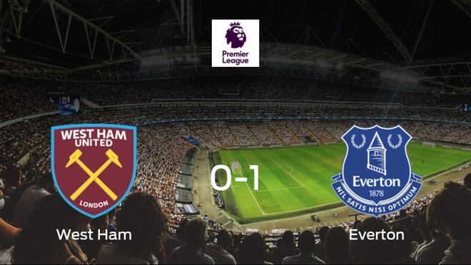 El Everton vence por la mínima al West Ham (0-1)