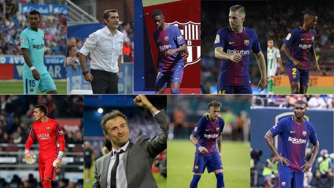 Un Barça con muchas caras