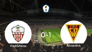 El Azuqueca se lleva el triunfo después de vencer 0-1 al Pedroñeras