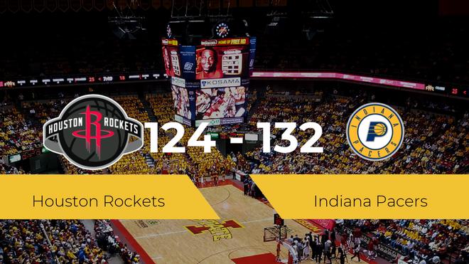 Indiana Pacers se lleva la victoria frente a Houston Rockets por 124-132