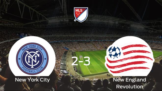 El New England Revolution se impone al New York City y consigue los tres puntos (2-3)