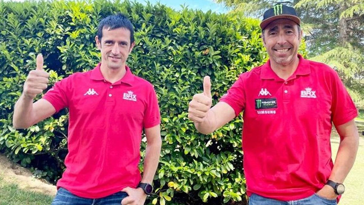 Nani Roma y Alex Haro, de nuevo juntos en el Dakar