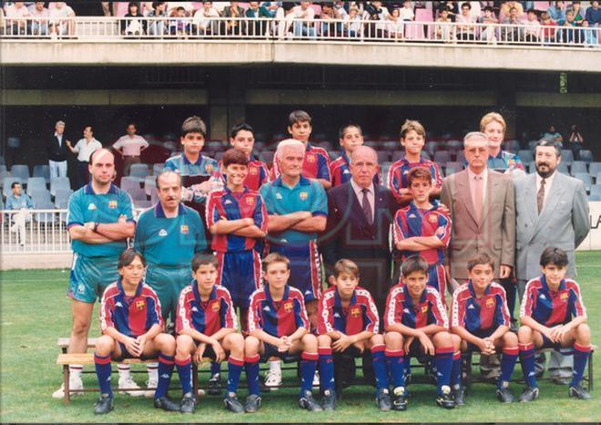 1.Xavi Hernández 1992-93